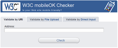 Сайт для доступа с мобильных устройств