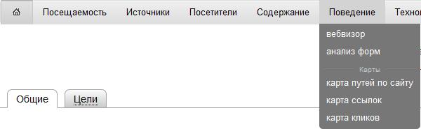 Панель вебвизора в яндекс метрике