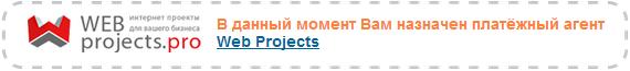 Платежный агент webprojects.pro
