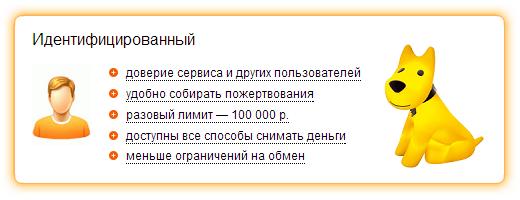 Идентифицировать Яндекс Деньги в салоне Евросети