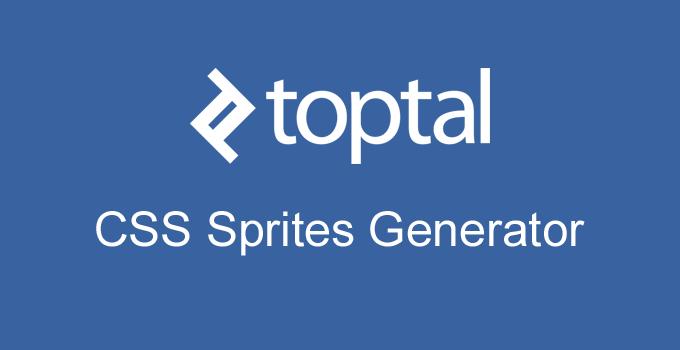 Toptal CSS Sprites Generator